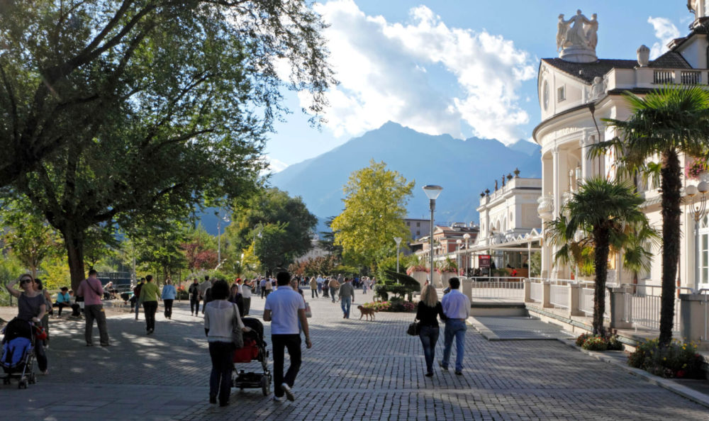 Merano – the city of promenades