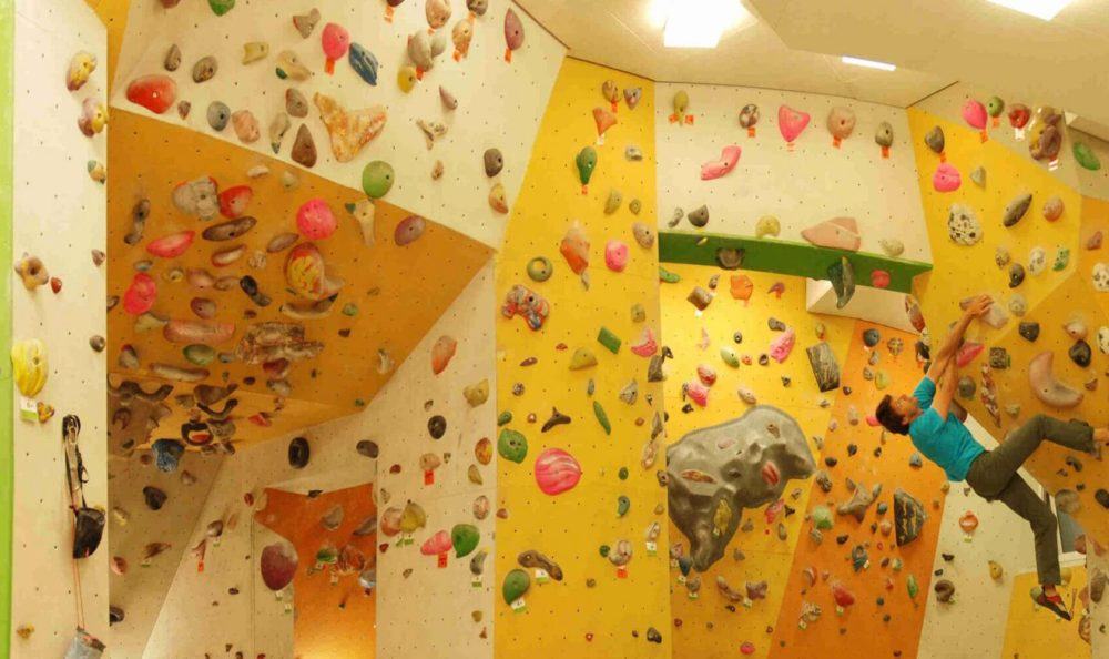 Rockarena – the climbing hall in Merano