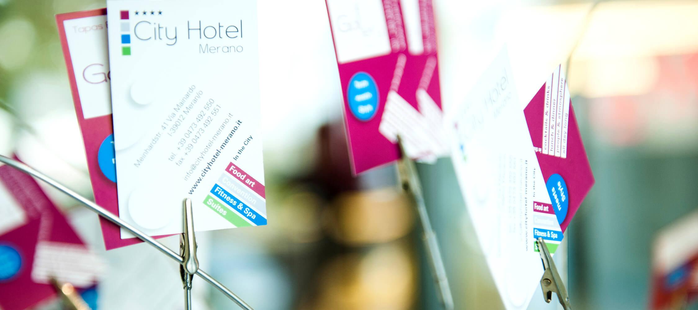 City Hotel Meran, 4-Sterne superior, modernes Design mit frischen Farben