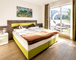 City Hotel Meran, Panoramic Suite, 5. Stock, private Terrasse, grandiose Aussicht