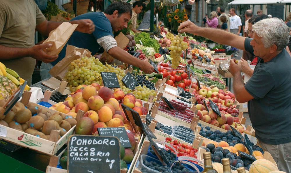 Market city Merano