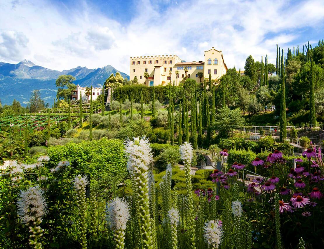 Italien-Trentino_Suedtirol_Alto_Adige_Merano_Meran_Natur_Besichtigen_Botanischer_Garten_Gaerten_von_Schloss_Trauttmansdorff-Marion Gelmini_1110x852