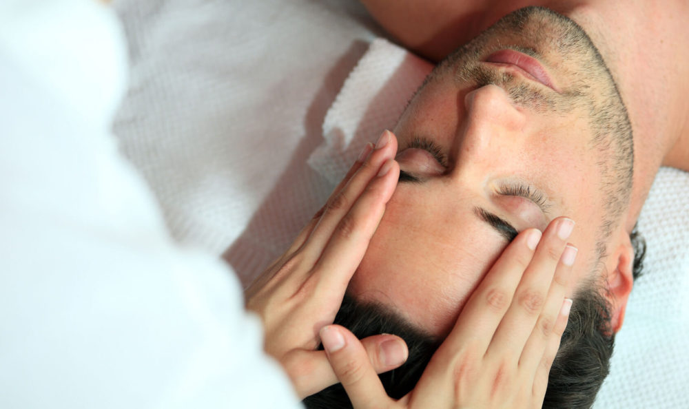 Head and facial massage