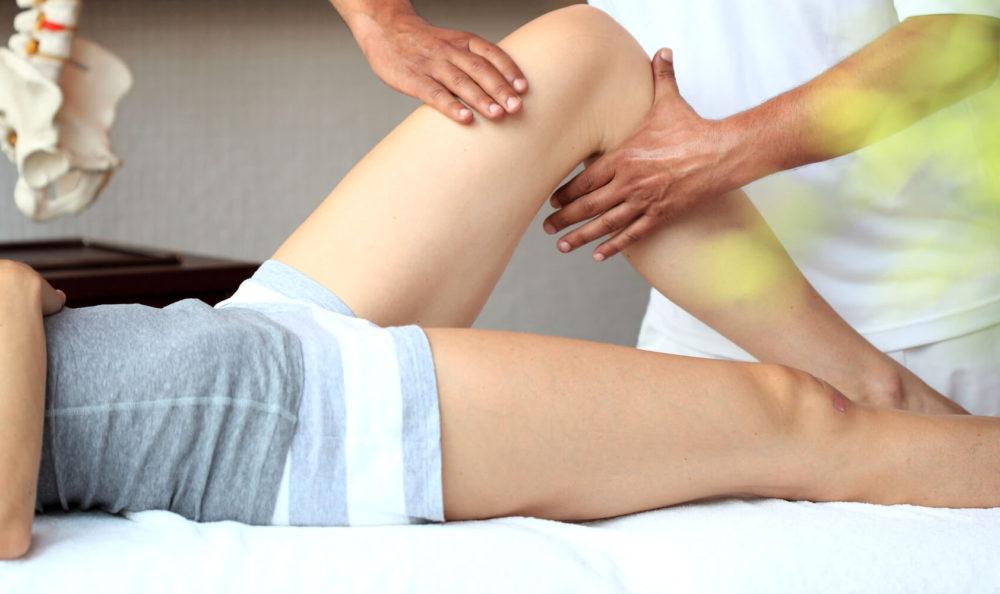 Massaggio con olio di Bio-Arnica