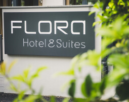 Hotel Flora, Merano, 3 stars Hotel, suites, B&B, best downtown location, vacation, business