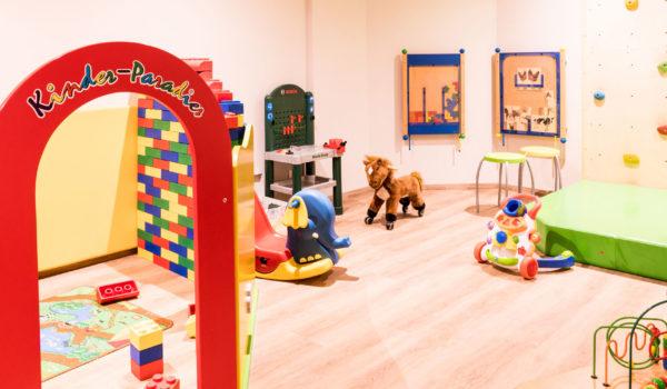 Der Kinderspielraum im Flora: Ein Paradies für den Nachwuchs. Hier lässt es sich ganz wunderbar toben und spielen. ©Beatrice Pilotto