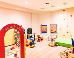 Hotel Flora, Merano, 3 stars hotel, family, playroom, hotel garden, playground, slide, table tennis, sand box