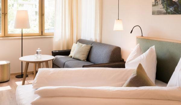 Die komfortable Größe ist ideal für Ruhesuchende. Oder für Familien mit viel Raum für erholsame Urlaubstage. ©Beatrice Pilotto