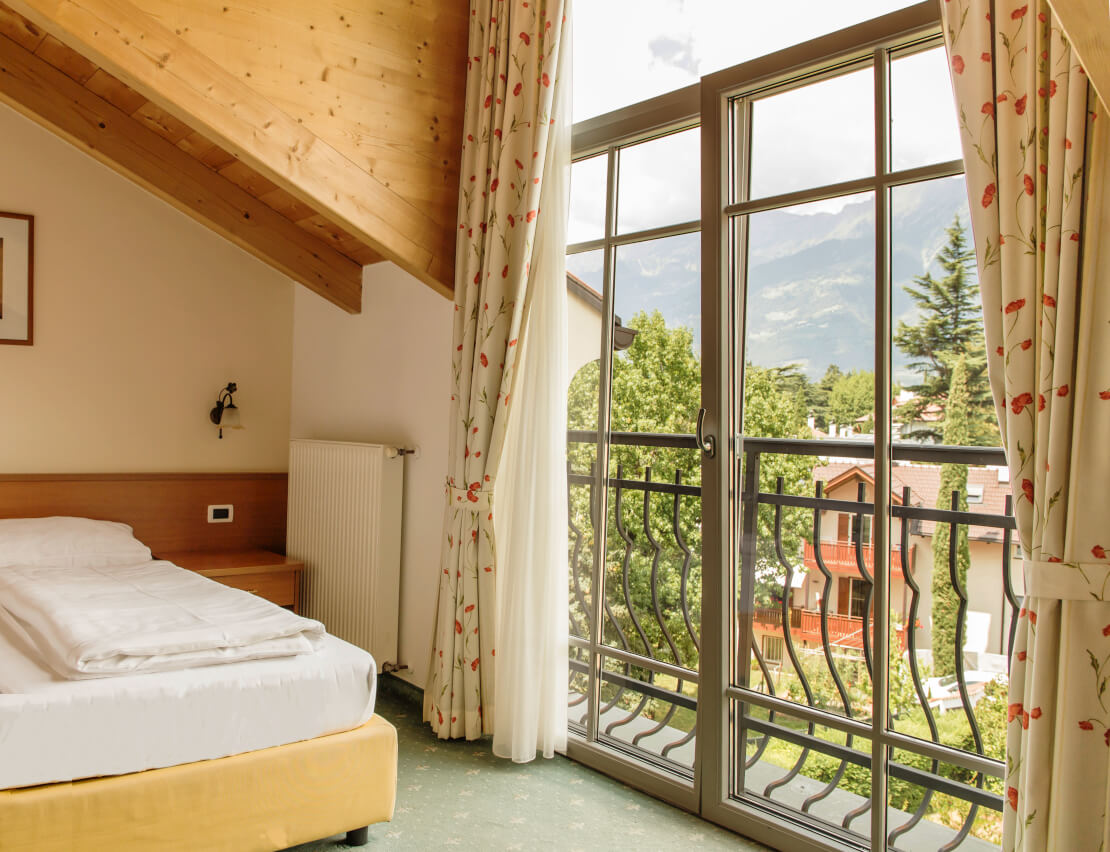 Hotel Villa Laurus Merano - 3 Stars - Double Room Vista - The Panorama