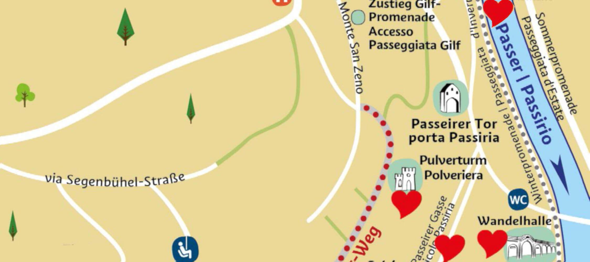 Romantic Places in Merano